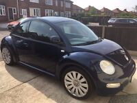 2001 Blue VW Beetle 2.0 Petrol - MOT TO 07/17
