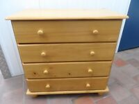 FURNITURE FOR SALE - PINE CHEST OF DRAWERS