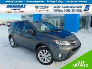 2015 Toyota RAV 4 Limited AWD *Leather *Roof *As new *Sk tx pd!