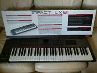 Nektar Impact LX61 Midi Keyboard as new