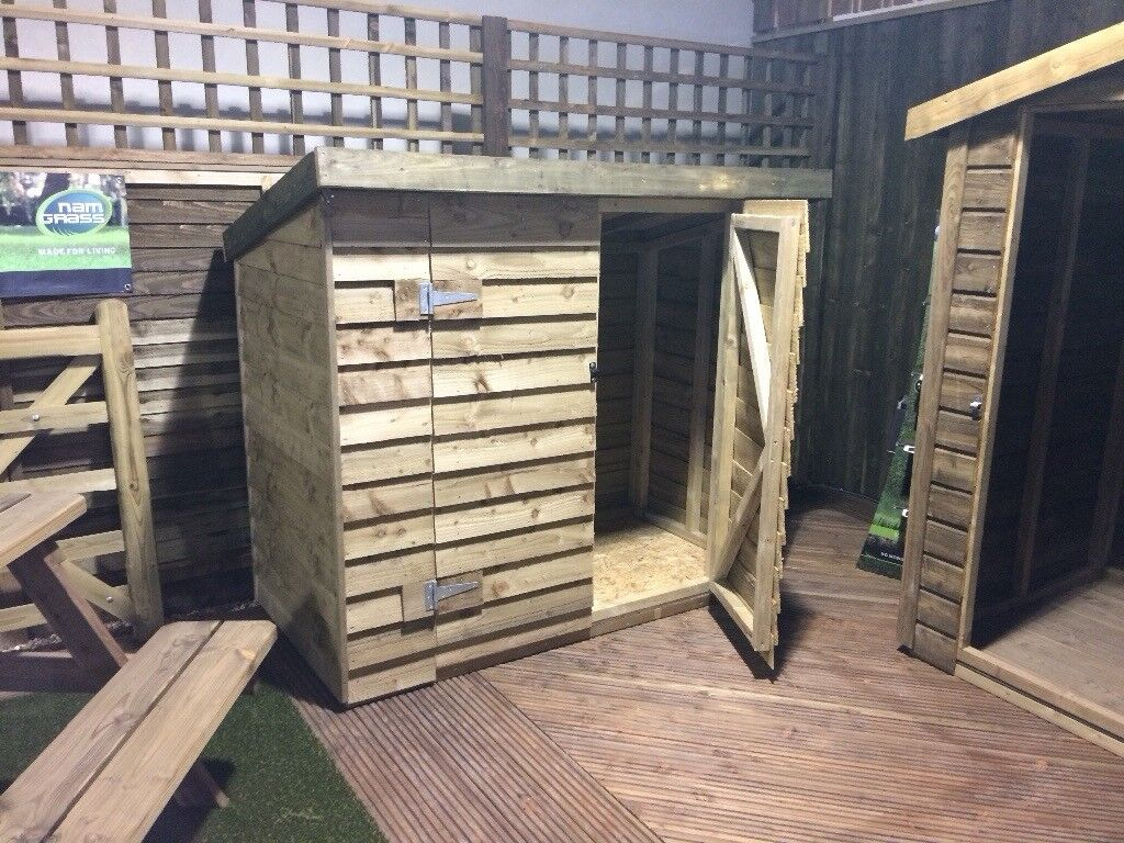 wooden bike shed in plymouth devon gumtree. Black Bedroom Furniture Sets. Home Design Ideas
