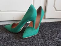 Next Green Suede Shoes