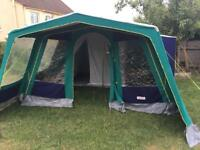 Marechal Luxe Retro Canvas 5 Berth Frame Tent