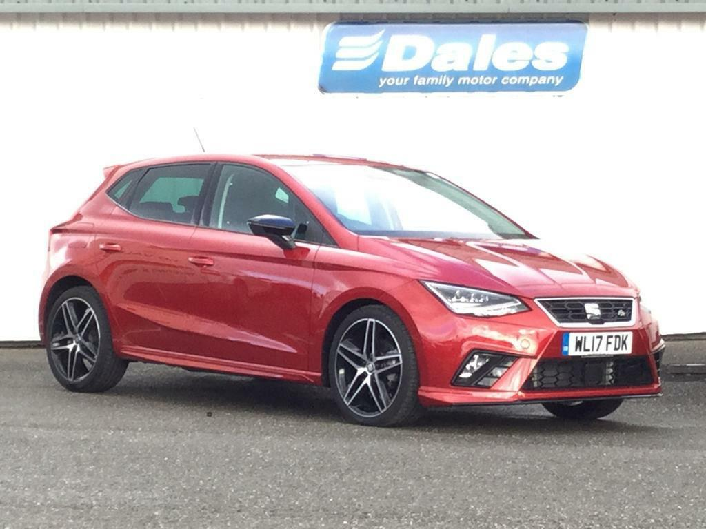 seat ibiza 1 0 tsi 115 fr 5dr desire red 2017 in newquay cornwall gumtree. Black Bedroom Furniture Sets. Home Design Ideas