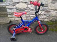Boys bike, age 3 to 5