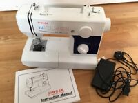 Singer 3500 Sewing machine with instruction manual - recently serviced