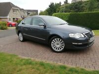 2008 VW Passat Highline 11 Service Stamps MOT July 2019
