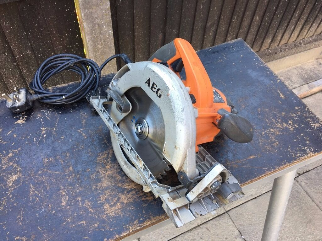 AEG KS66C Electric Circular Saw 240v 1600W 185mm Made in Germanyin Sutton Coldfield, West MidlandsGumtree - AEG KS66C Electric Circular Saw 240v 1600W 185mm Made in Germany in good condition and in working order. Text only on 07429106550 if interested Please. Reasonable price, no offers please