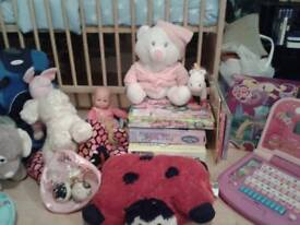 Childrens toy 3/6 year old job lot bundle