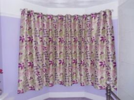Curtains - lined - excellent condition