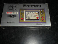 Snoopy Tennis Nintendo Game & Watch Handheld retro boxed rare £60 UNIT IN EXCELLENT CONDITION