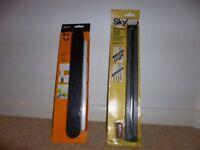 2 magnetic knife racks