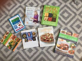Bundle of 7 healthy eating cookbooks