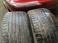 Accelera PH1 245 45 19 tyres x 3 (3-4mm)