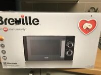 Breville Black 17L Microwave Brand New in Box