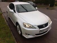 Lexus is220d Pearl white