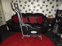cross trainer/fitness machine
