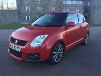 2007 Suzuki Swift Sport 1.6 red, full service history, 91,000 miles. Full year MOT.