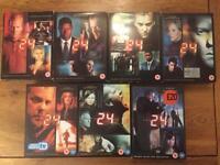 24 DVD Box sets season 1 to 7