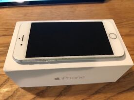 Apple iPhone 6 64GB in mint condition. Silver and white.