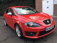 2010 Seat Leon FR full seat dealer history. MOT no advisories