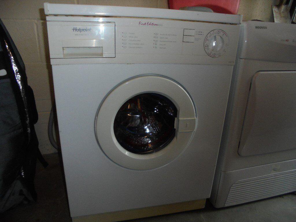 Hotpoint First Edition 1000 Washing Machine In Cyncoed