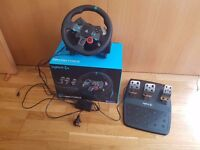 Logitech G29 PS4 PC Driving Wheel + Pedals