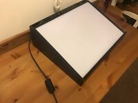 A3 Lightbox - Hardly Used