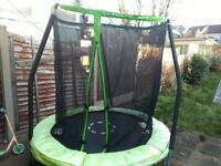 Trampoline (nearly new) 3 months old - £50