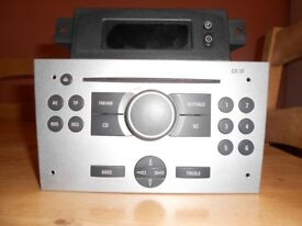 Vauxhall CD30 CD Radio