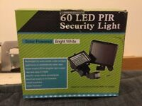 Solar light 60 LED + motion sensor ( new )