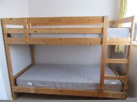 Pine Bunk Bed For Sale