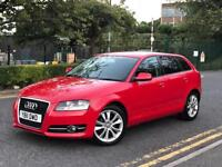 **AUDI A3 SPORT TDI 2.0 DIESEL 5 DOOR RED (2011 YEAR)IN IMMACULATE CONDITION**
