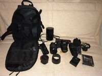 Canon EOS 550D with 5 Superb Lenses and Lots More
