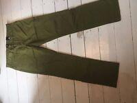 H&M kids trousers green