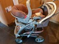 3 in 1 Graco Travel System Pushchair