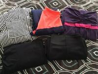 Bundle Of maternity clothes dresses, tunic shirt, skirt