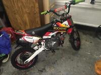 Demon 140 pit bike