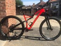 Specialized carbon stump jumper fsr Carbon mountain bike