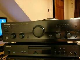 Pioneer A-509R stereo amplifier, classic rare