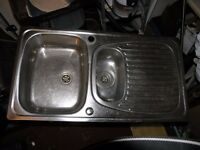Stainless Steel Bowl And A Half Kitchen Sink Top Weymouth