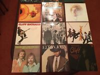 Great collection of 148 original vinyl albums (1) . See ad 2 for rest