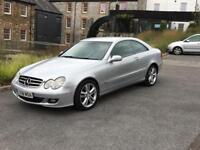 Mercedes-Benz CLK 220 2.2 CDI Avantgarde 2DR Coupe Automatic, Low Mileage