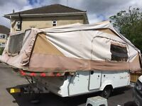 Pennine Pullman 2007 6 berth folding camper/trailer tent