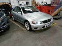 LEXUS IS200 2.0 SE 6 SPEED MANUAL 12 MONTH MOT