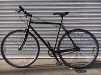 Single Speed Fixed Gear (Fixie) Bike -- Matte Black