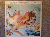 """DIRE STRAITS - ALCHEMY DIRE STRAITS LIVE. 12"""" VINYL LP"""