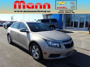 2012 Chevrolet Cruze LT Turbo - PST paid, Remote start, Alloy wh