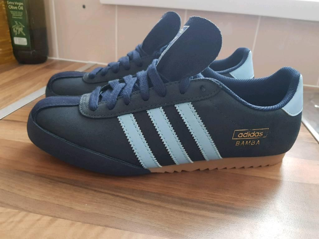 Adidas Bamba Trainers Size 9