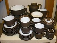 Large quantity of Hornsea CONTRAST collectable china